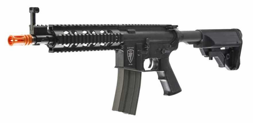 Elite Force M4 CQB Airsoft AEG, Black