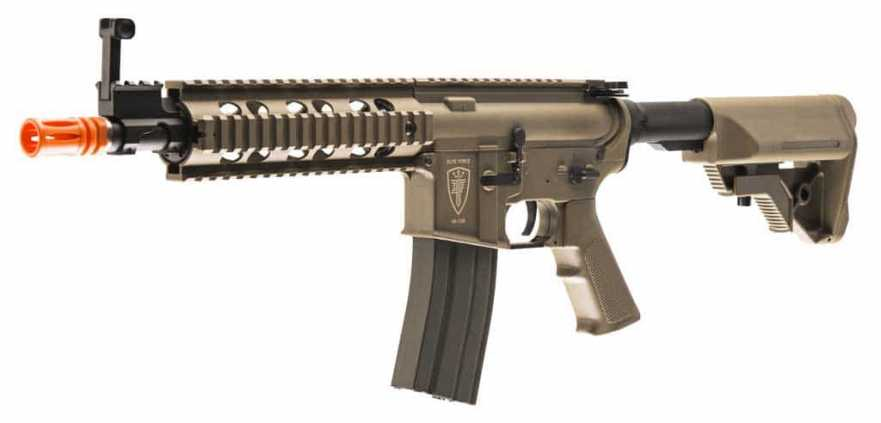 Elite Force M4 CQB Airsoft AEG, Flat Dark Earth (FDE)