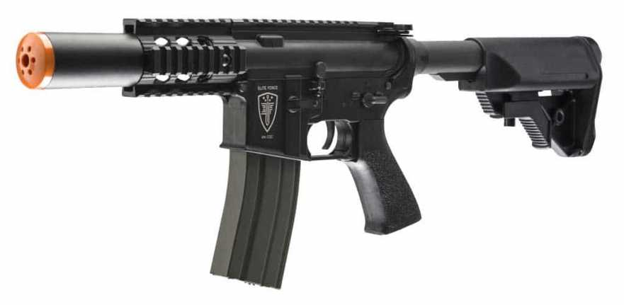 Elite Force M4 CQC Airsoft AEG, Black