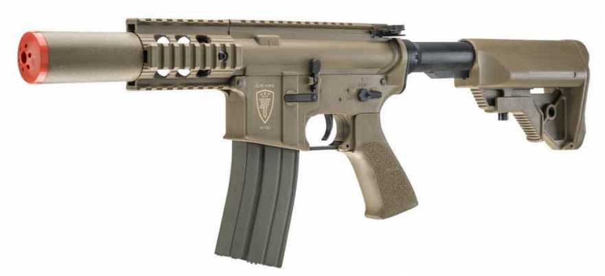 Elite Force M4 CQC Airsoft AEG, Flat Dark Earth (FDE)