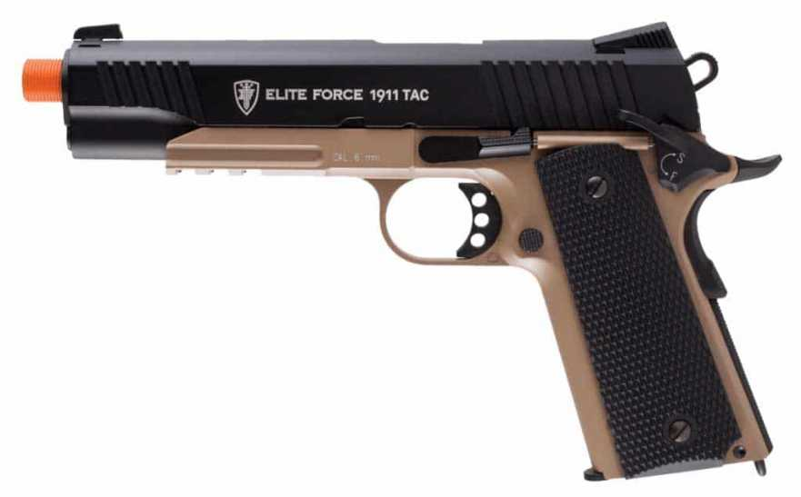 Elite Force 1911 TAC - Black/Dark Earth Brown (DEB)