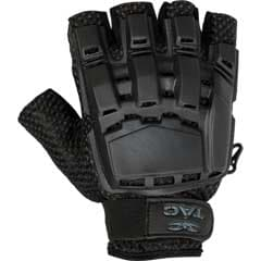 V-TAC Half Finger Plastic Back Gloves