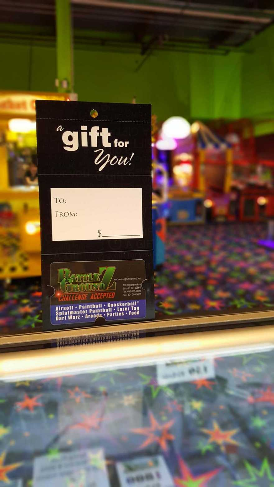 BattlegroundZ.net Gift Card